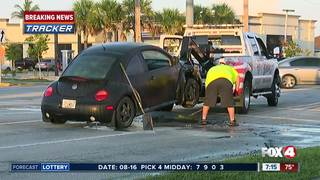 No injuries reported in Cape Coral car fire