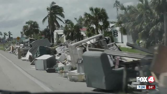 What happens To hurricane debris-