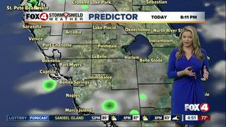 FORECAST: Heat index up to 105º, few storms