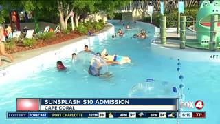 Cape water park offering discounted admission