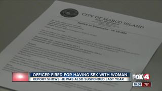 New details emerge on fired Marco officer