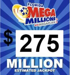 $275M on the line in Mega Millions drawing