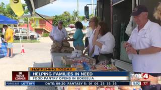 Another food pantry opens in Bokeelia