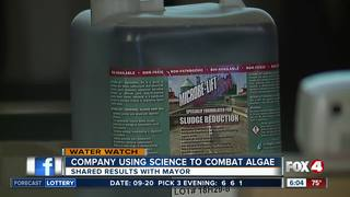 Cape Coral canal algae clean-up method working