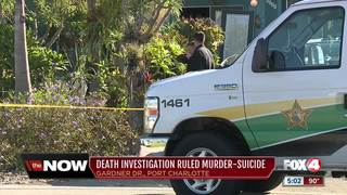 Deaths in Port Charlotte ruled a murder-suicide