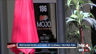 Four charged with trying to buy fish illegally