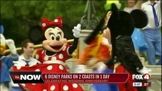 Couple visits 6 Disney parks, 2 coasts in 1 day