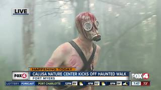 Calusa Haunted Walk raises money for animal care