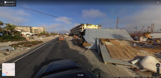Street view shows destruction in Mexico Beach