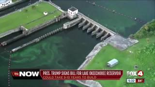 Trump signs bill creating Lake O reservoir