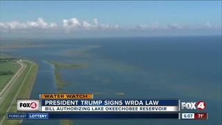 President Trump signs federal Water Act