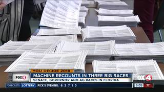 Counties recount votes in three tight races