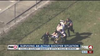 Deputies teach how to survive an active shooting