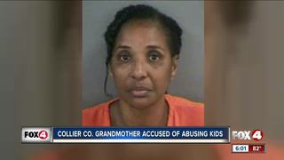 Grandmother charged with child abuse