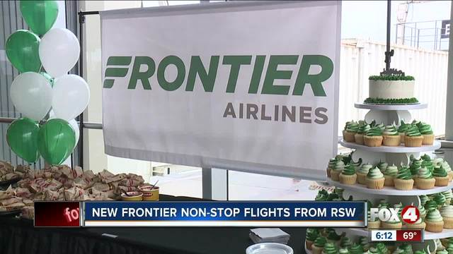 Frontier begins service to Southwest Florida