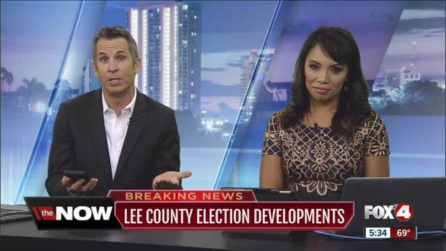 Lee County-s manual recount will be delayed- votes must be re-sorted