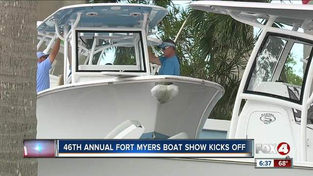Annual -Fort Myers Boat Show- kicks off