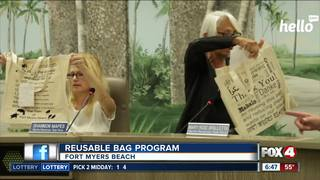 Fort Myers Beach considering reusable bag