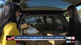 Harry Chapin asking for holiday donations