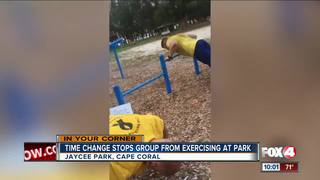 Fitness group looks for new workout spot